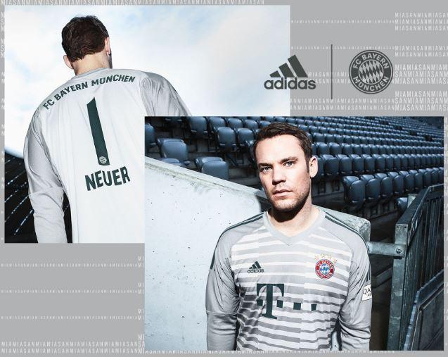 FC Bayern keeper jersey 2018/19