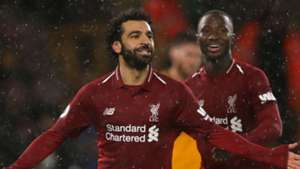 Salah Keita Liverpool Wolves 2018