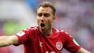 Christian Eriksen Denmark 2018 World Cup