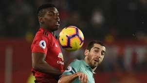 Paul Pogba Henrikh Mkhitaryan Manchester United Arsenal