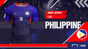 Philippines 2018 Away Jersey Kit