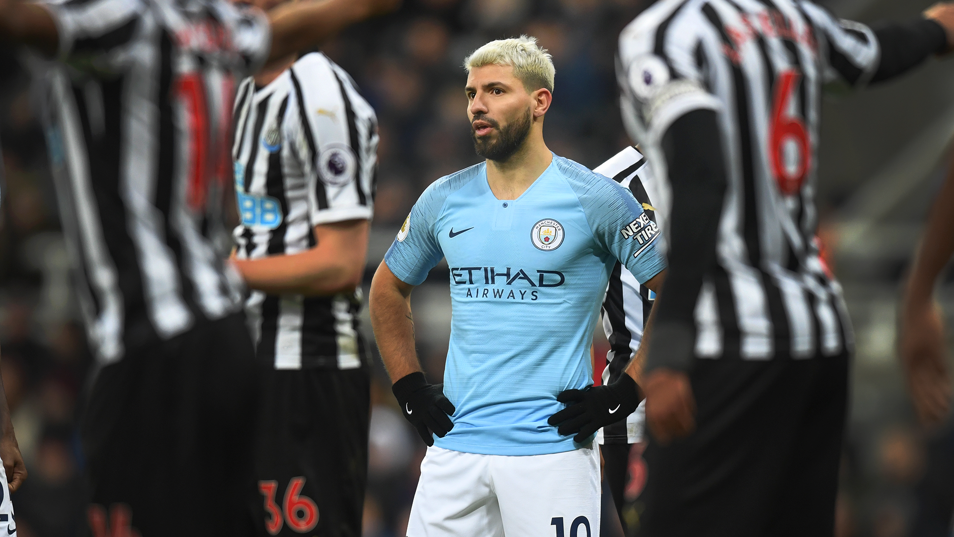 Manchester City Newcastle Sergio Aguero 2018-19