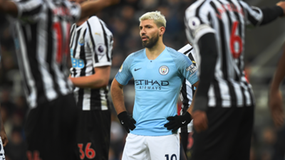 Manchester City Newcastle Sergio Aguero 2018-19