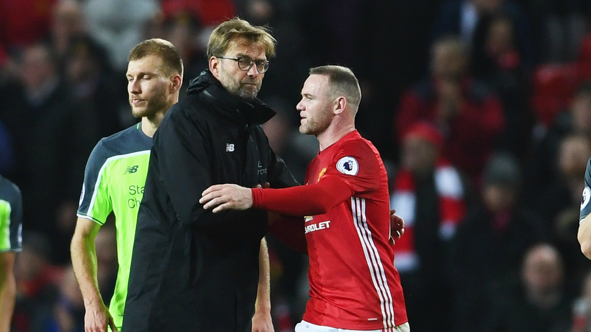 Rooney: Only bad thing about Klopp is coaching Liverpool!