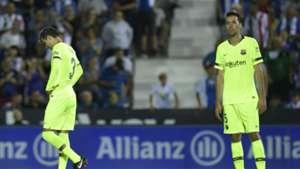 Sergio Busquets Leganes Barcelona LaLiga 26092018