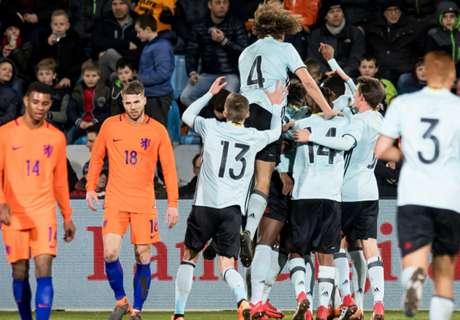 Jong Oranje krijgt pak slaag van Jong België