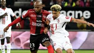 Jimmy Briand Kevin Malcuit Guingamp Lille Ligue 1 16092017