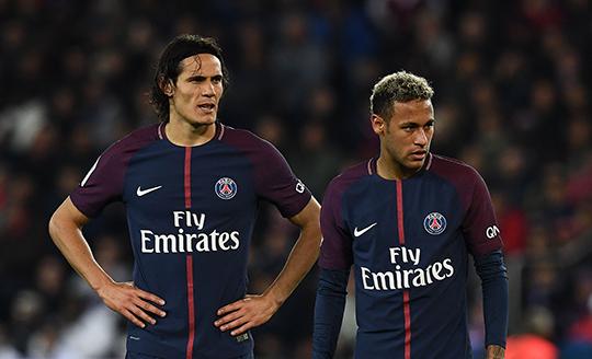 Psg, tensione alle stelle: rissa sfiorata tra Neymar e Cavani