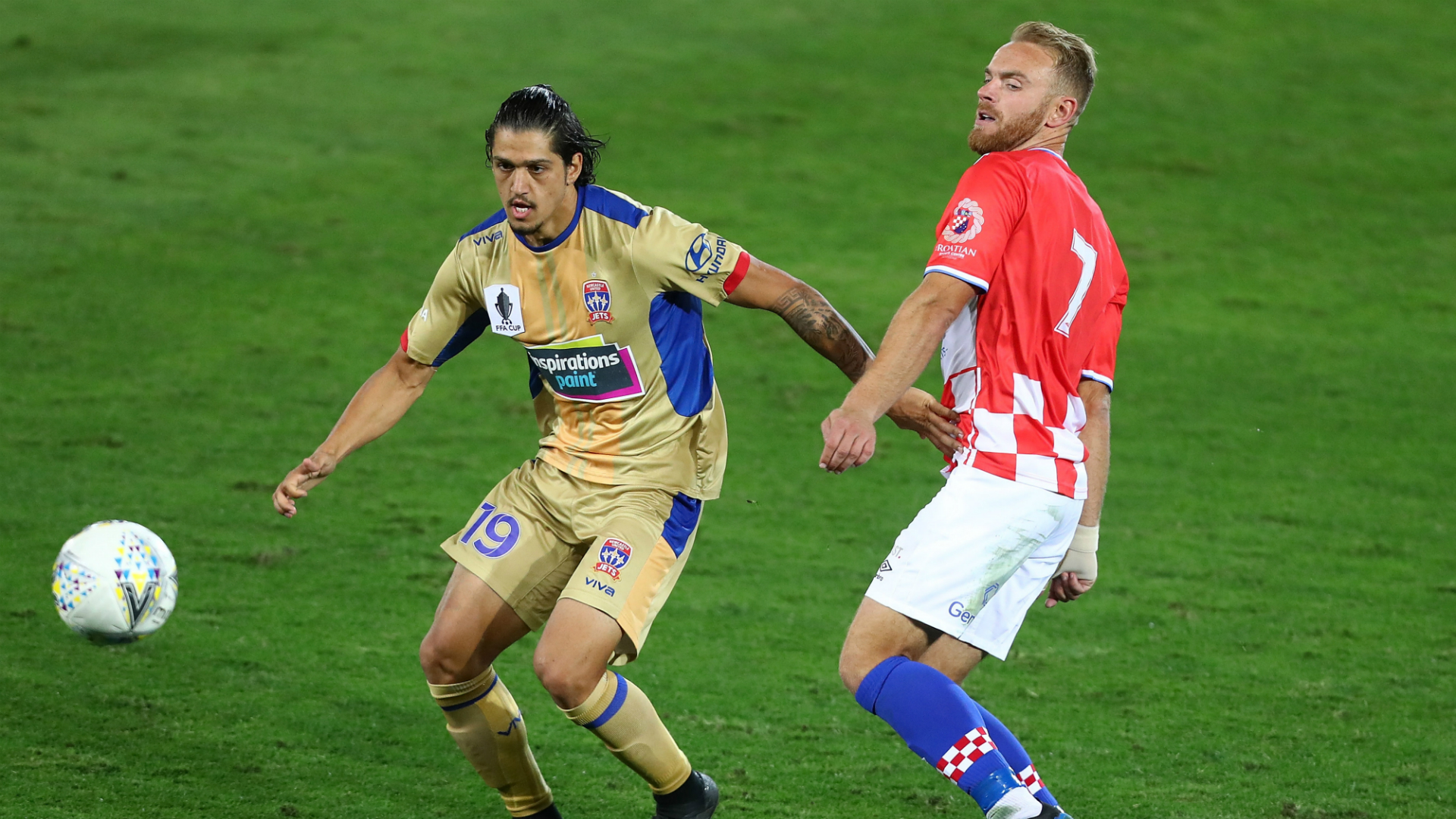 Kosta Petratos Newcastle Jets