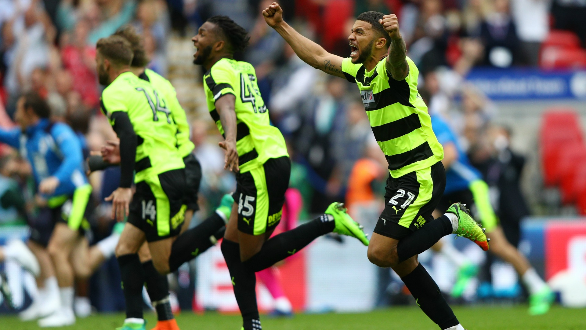 Huddersfield Reading Final
