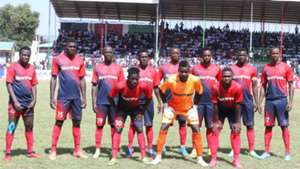 AFC Leopards squad v Gor Mahia.