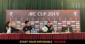 Chu Dinh Nghiem Ha Noi AFC Cup 2019 Toyota