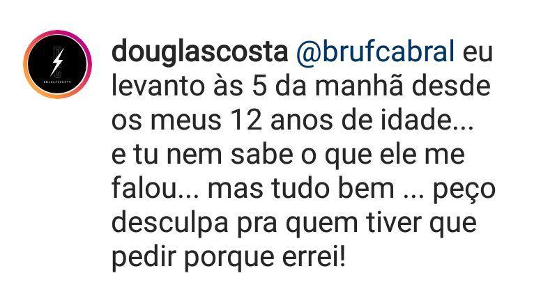 Douglas Costa Instagram