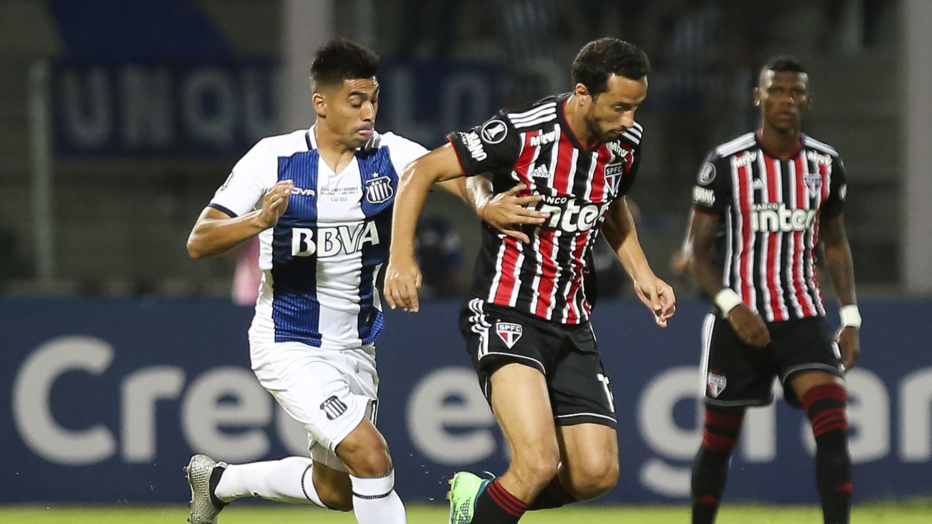 Nenê Enzo Diaz Talleres São Paulo Copa Libertadores 06022019