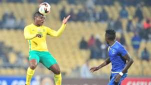 Bafana Bafana, Mohau Mokate against Tanzania