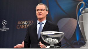 Quarter-final draw UEFA Champions League
