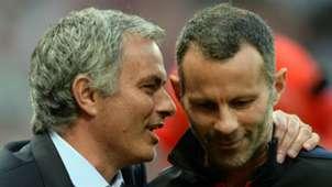 Jose Mourinho Ryan Giggs