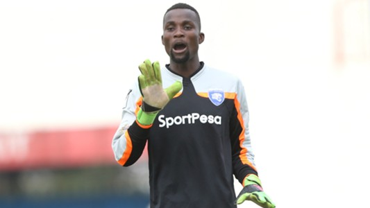 AFC Leopards keeper Gabriel Andika