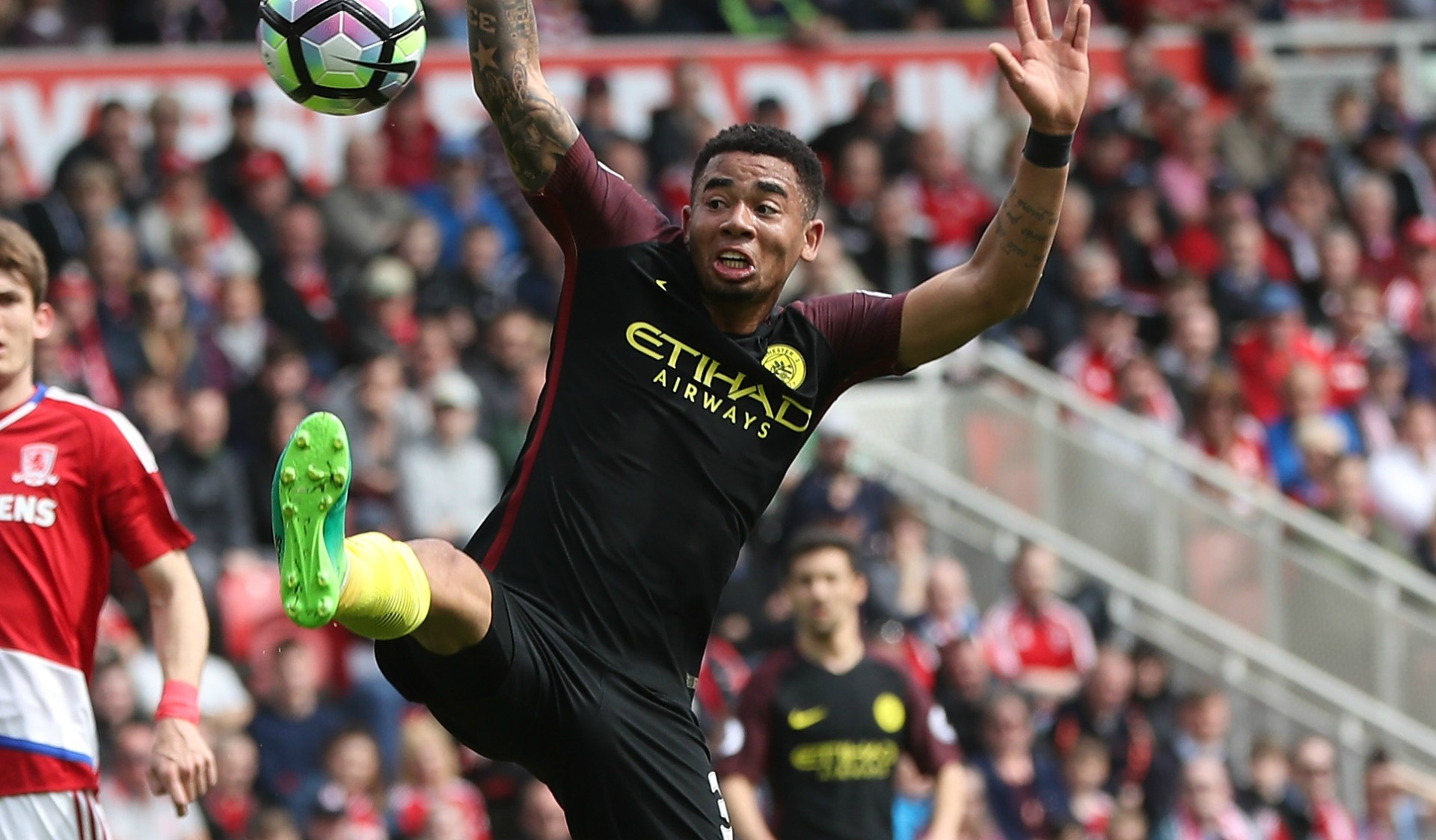 Gabriel Jesus Middlesbrough Manchester City 30042017