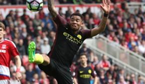 Gabriel Jesus Middlesbrough Manchester City 30042017