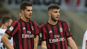 Patrick Cutrone Andrè Silva Milan Benevento Serie A