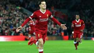 Philippe Coutinho Liverpool Premier League 26122017