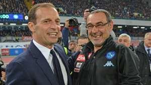Allegri Sarri Juventus Napoli