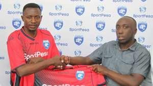 Eric 'Bakame' Ndayishimiye of AFC Leopards.