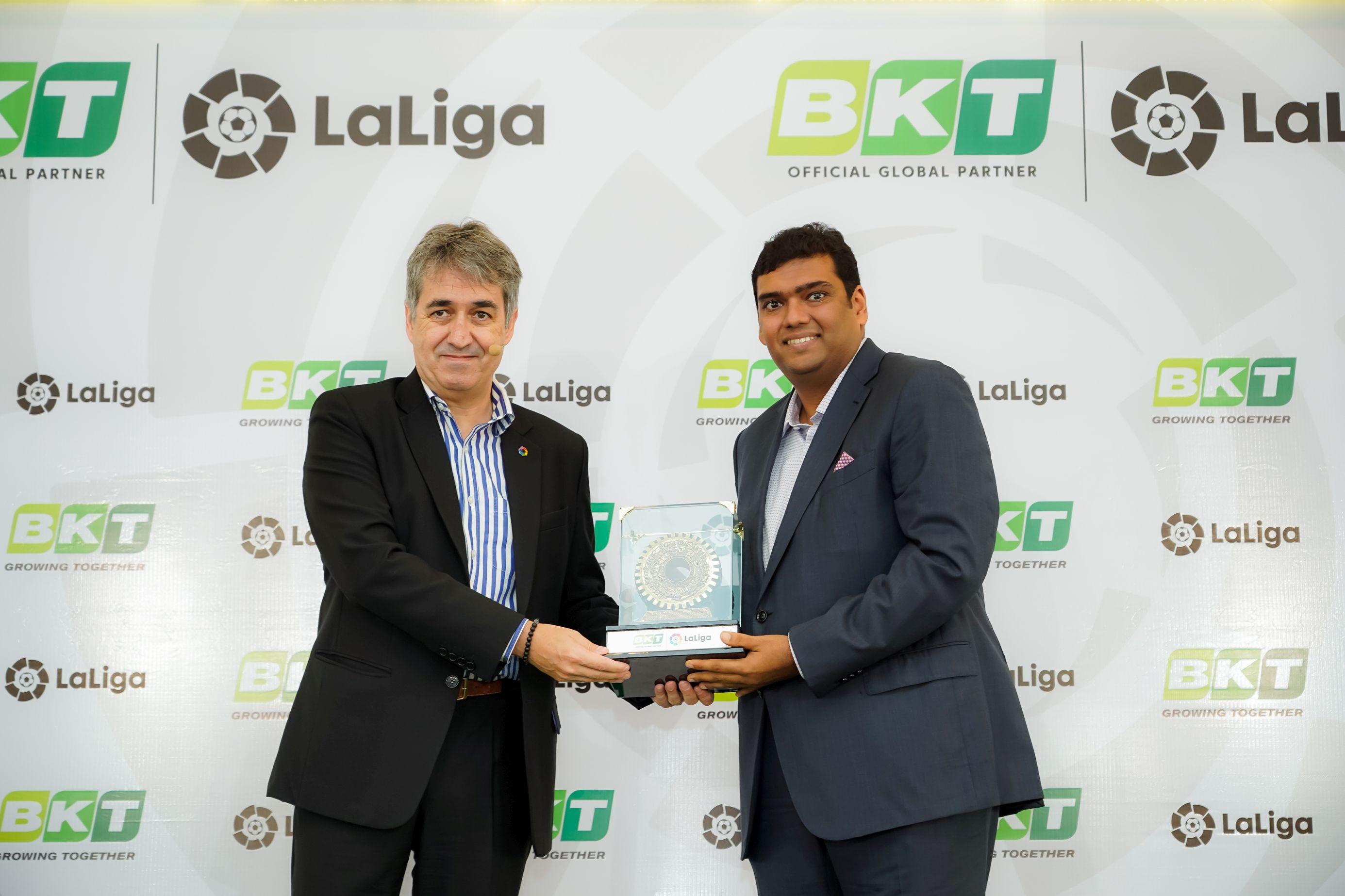 BKT La Liga Rajiv Poddar Diego Forlan