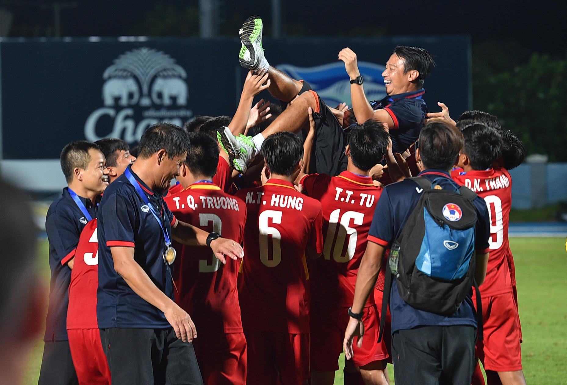 U15 Việt Nam U15 Thái Lan AFF Cup 2017