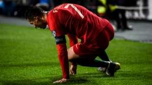 Cristiano ronaldo injury portugal serbia