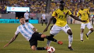 Mauro Icardi Davinson Sanchez Argentina Colombia Amistoso Internacional 11092018