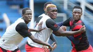 Victor Wanyama and David Ochieng.