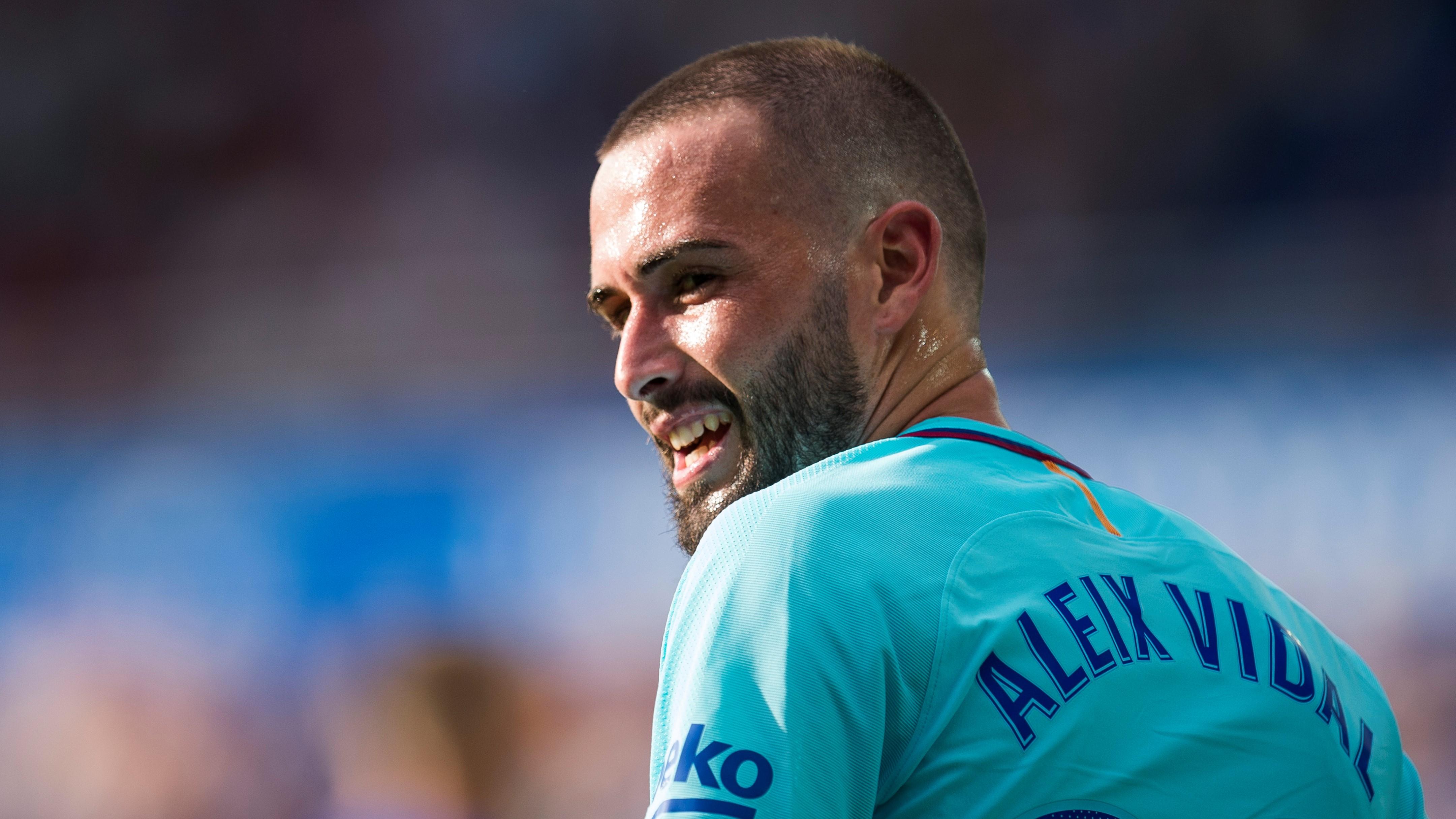 Aleix Vidal Alavés Barcelona LaLiga 26082017
