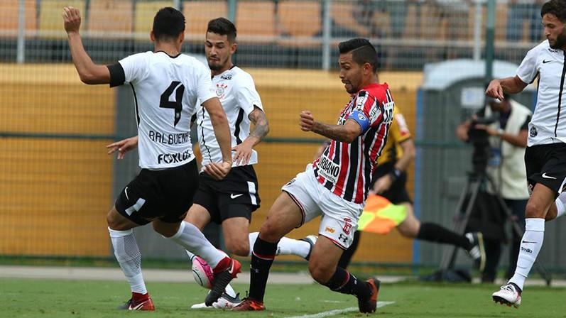 Balbuena, Pedro Henrique e Petros - Corinthians x São Paulo - 27/01/2018