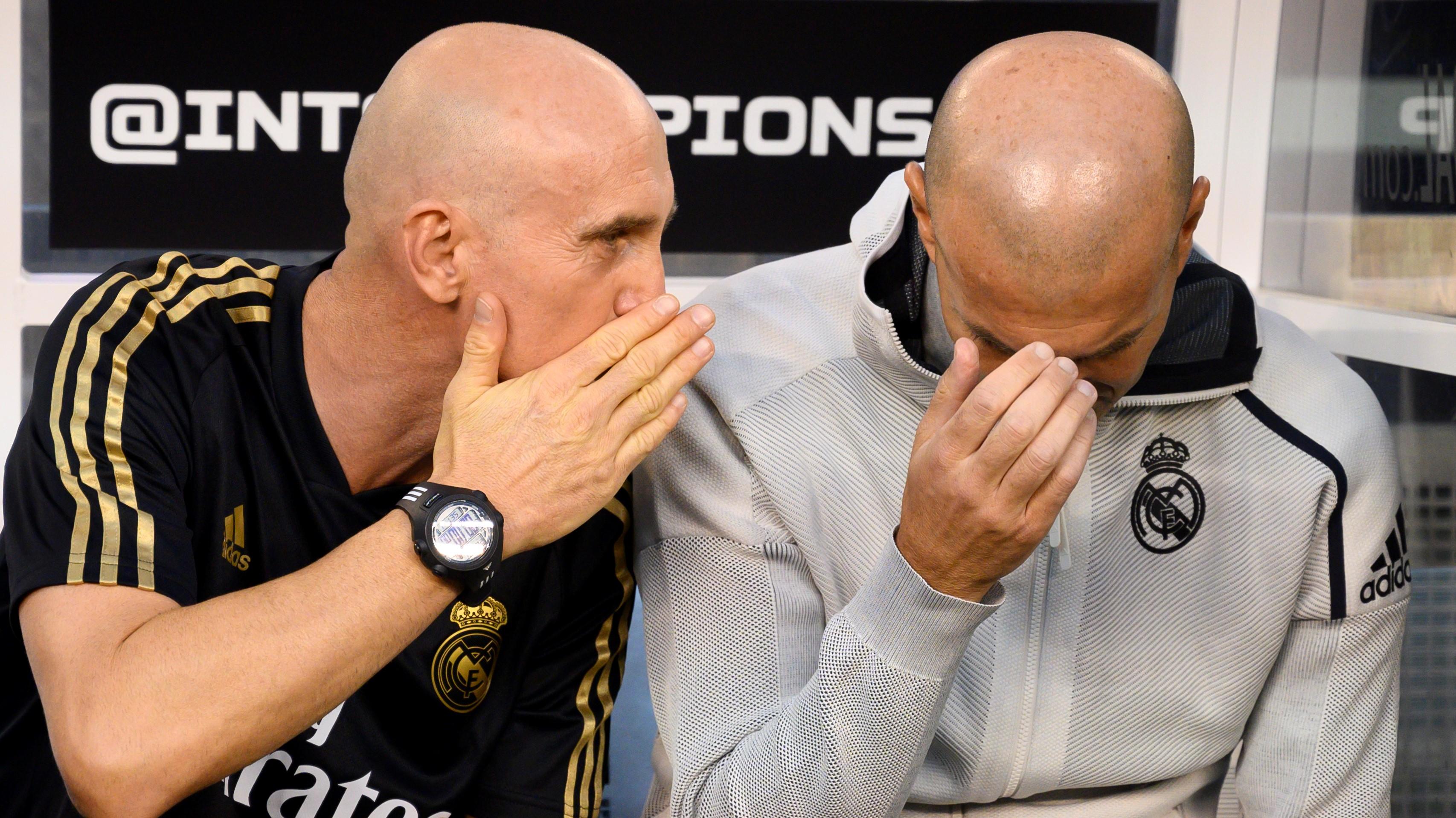 Zinedine Zidane Real Madrid Atletico de Madrid ICC 27072019