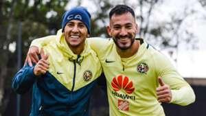 Emanuel Aguilera y Cecilios Domínguez