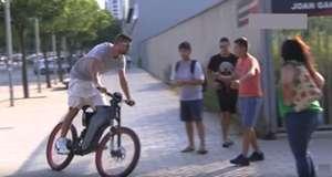 Gerard Pique bike