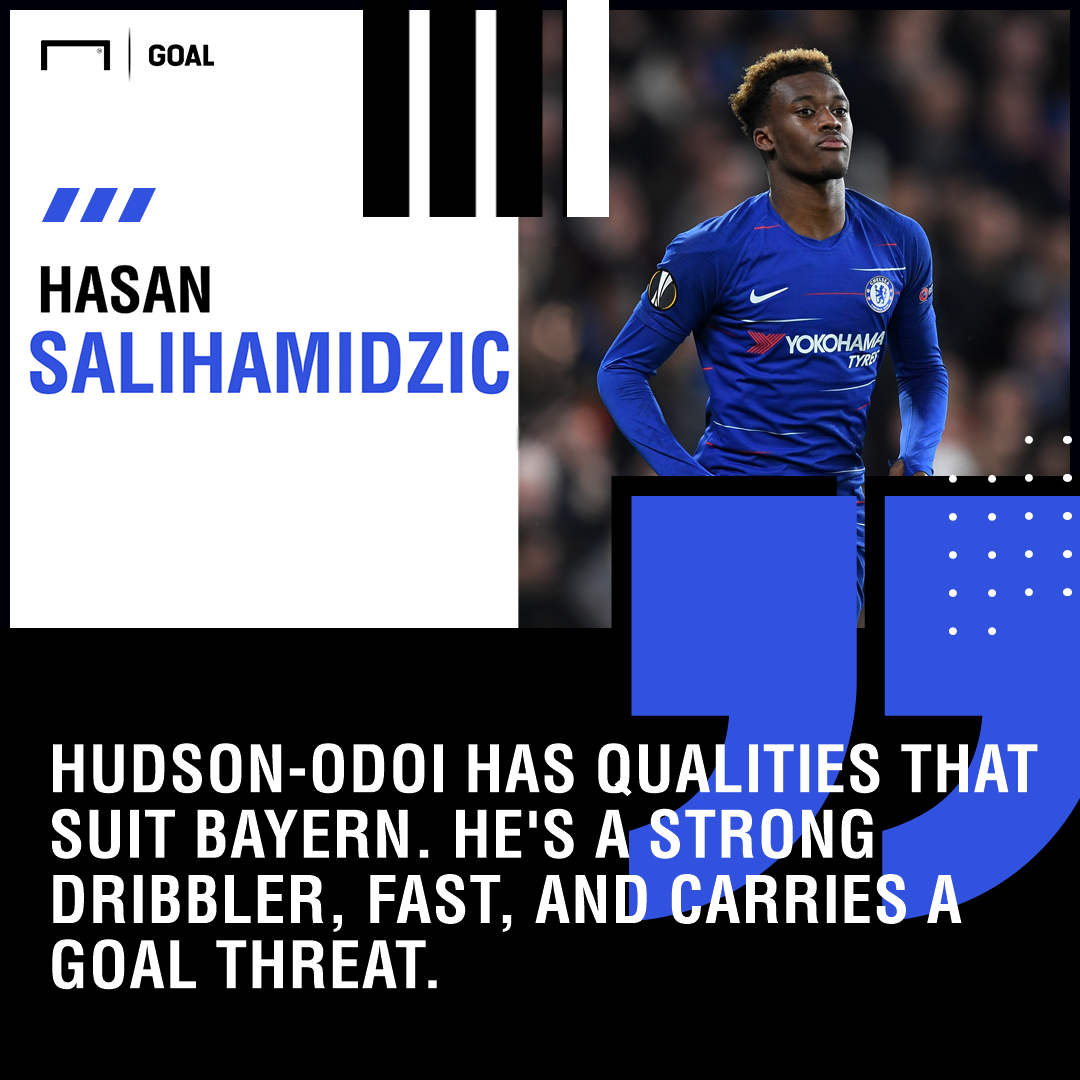 Hudson-Odoi quote PS