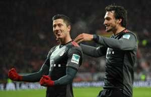 Lewandowski, Hummels, Bayern München, 13042017