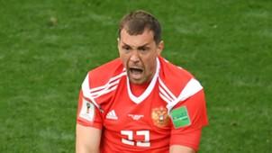 Artem Dzyuba Russia 2018