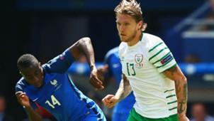 Jeff Hednrick Blaise Matuidi France Ireland UEFA Euro 2016 26062016