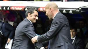 Ernesto Valverde Zinedine Zidane
