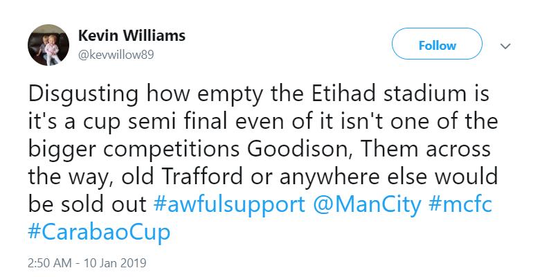 Man City reaction League Cup Burton