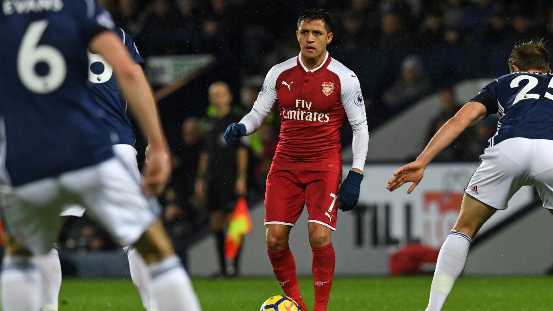 Alexis Sanchez Arsenal West Brom