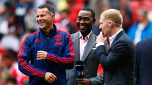 Andy Cole Ryan Giggs Paul Scholes Manchester United