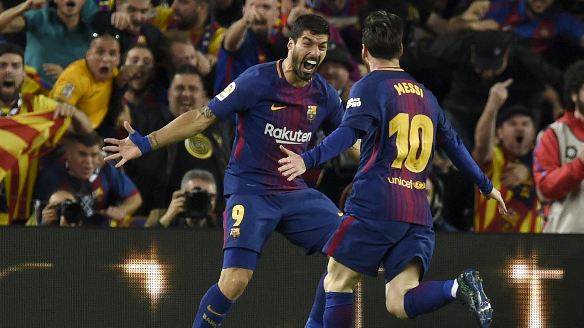 Luis Suarez Messi FC Barcelona