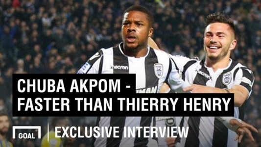 Chuba Akpom exclusive: New life in Greece, breaking Thierry Henry's sprint record and more   Goal.com