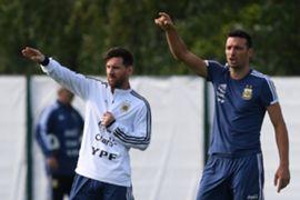 Lionel Scaloni, Lionel Messi, Argentina
