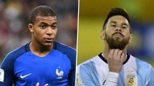 Kylian Mbappe Lionel Messi